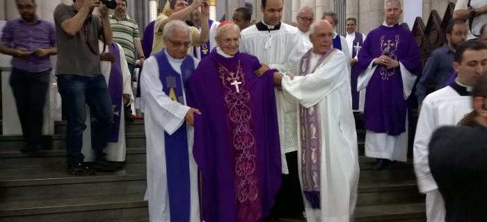 Homenagem aos 69 anos de ordenação sacerdotal de D. Paulo Evaristo Arns