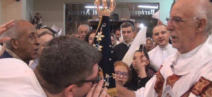 Comunidade acolhe a imagem peregrina de Nossa Senhora Aparecida