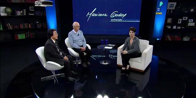 Jornalista Mariana Godoy entrevista o Pe. Julio Lancellotti