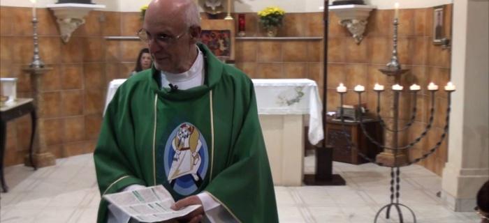 VÍDEO: Homilia do Pe. Julio em 28/08/2016 – 22º Domingo do Tempo Comum