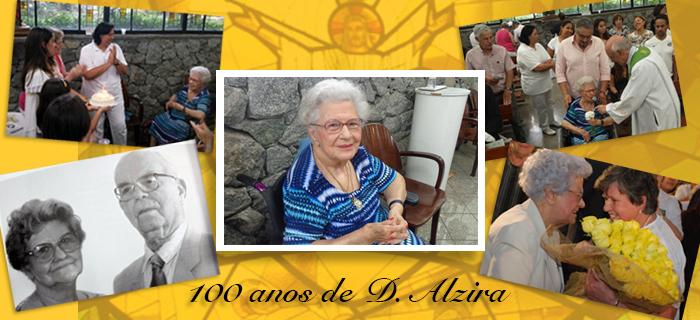 100 anos – Professora Alzira comemora