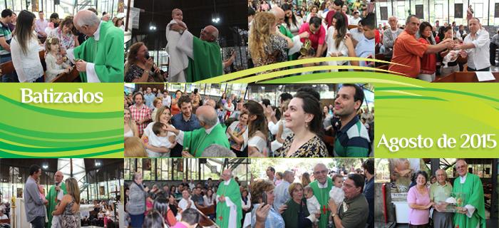 Batizados de agosto de 2015
