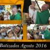 Batizados de agosto de 2016